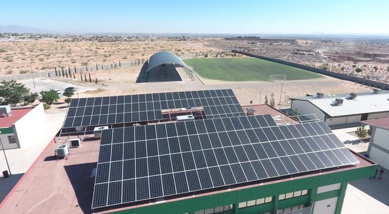 Solar energy system is delivered in Juarez