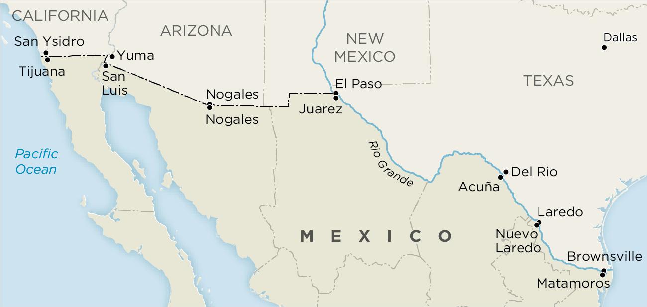 Economy improves in Mexico's border entities
