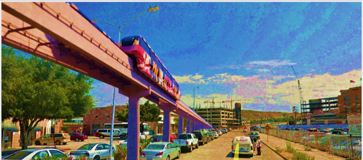 Tijuana rail