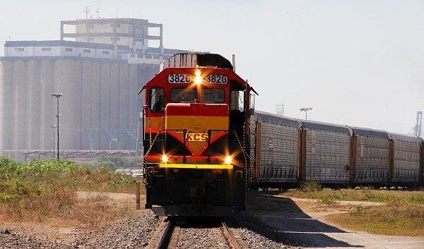 Train in Sonora