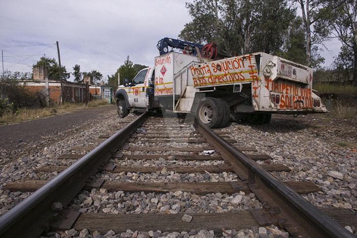 bloqueos ferroviarios
