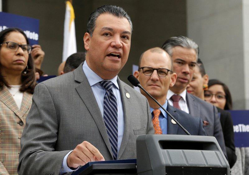 California gets 1st Latino US senator