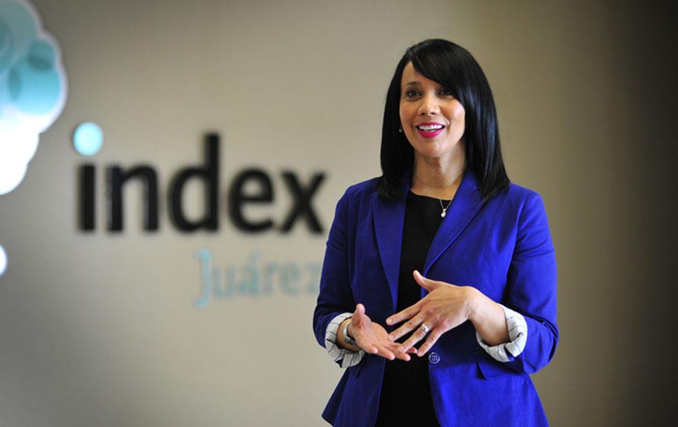 Fabiola Luna assumes the presidency of Index Juárez
